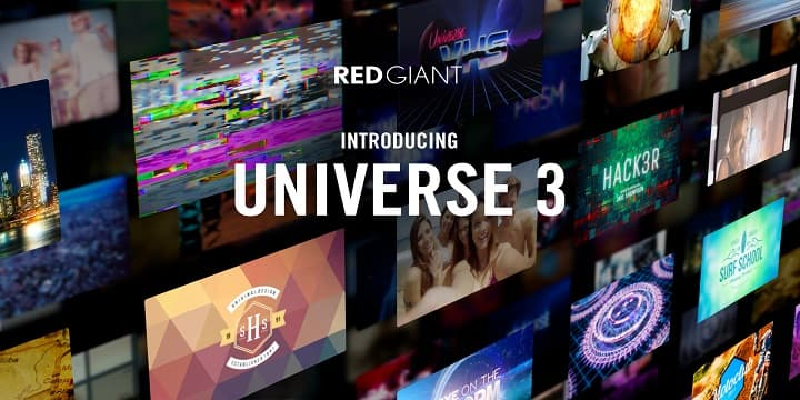 red giant universe 315 64bits video transitions effects
